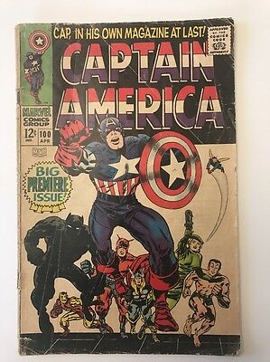 CAPTAIN AMERICA #100 // 1st Solo Issue // G-