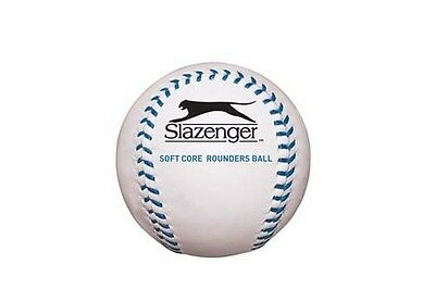 Slazenger Soft-Core Synthetic Rubber Sports Baseball Rounders Playing Ball