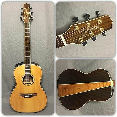 Takamine GY93E New Yorker Acoustic/Electric Guitar In Natural