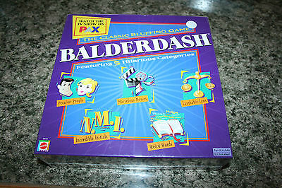 Balderdash The Classic Bluffing Board Game 2003 New / Sealed