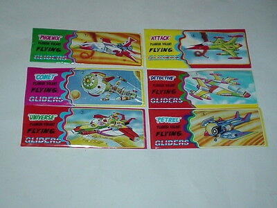 6 Planeur Volant Flying Gliders - die komplette Serie - Captain Future