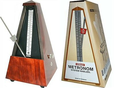 Wittner Metronome W811 - Mahogany with Bell - Unused (old stock)
