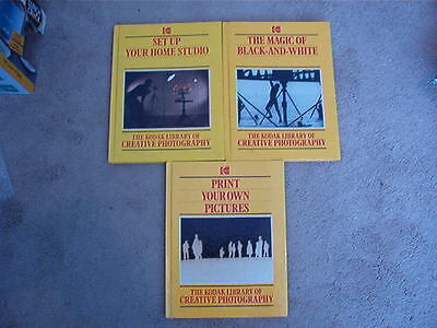 The Kodak Library Of Creative Photography Books 3 Total