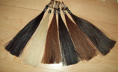 Hitched Horse Hair  Horsehair Shoo Fly/shu Fly W/cross Sass Cowboy