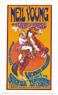 Neil Young & Crazy Horse Saratoga Performing Art Center 2003 Playbill-Canada-NEW
