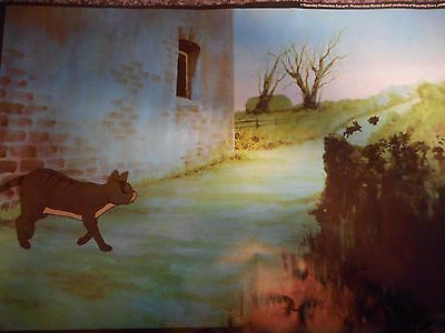 Watership Down Print Poster  The Unfriendly Cat