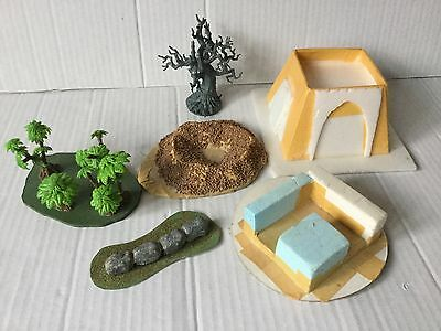 Games Workshop Warhammer 40k Scenery Collection Temple Bunker Jungle Ruins Tree