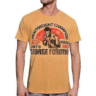 Roots of Fight George Foreman Champ Shirt - Yellow