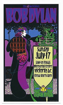 Bob Dylan Memorial Centre Victoria BC Sunday July 17, 2005 Playbill-Canada-NEW
