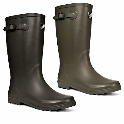 Trespass Recon X Mens Wellies Waterproof Fishing Walking Rubber Wellington Boots