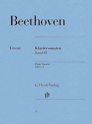 Beethoven: Piano Sonatas - Volume 2 (Henle Urtext Edition). Sheet Music