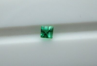 1.7 Mm Square Emerald 100% Natural Untreated Vivid Green‏