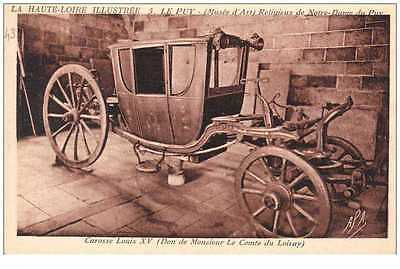 New Cpa 43 Le Puy  *** Carosse Louis Xv ***  Musee D' Art