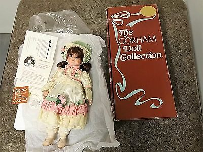 GORHAM 1985 MUSICAL COLLECTION DOLL GABRIELLE No 8402A 16""