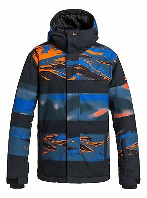 Quiksilver™ Fiction - Snowboard Jacket - Snowboard Jacket - Boys - Orange