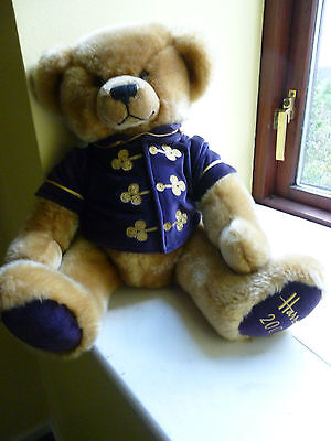 HARRODS 2000 Millennium Footdated bear Collectors item BNWT Unwanted gift
