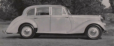 Armstrong Siddeley Four Door Saloon, Photograph.