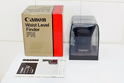 [GOOD] Canon Waist Level Finder FN (for new F-1)