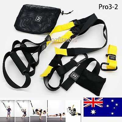 SUSPENSION TRAINING BODY TRAINER FITNESS BODYWEIGHT Gym Straps