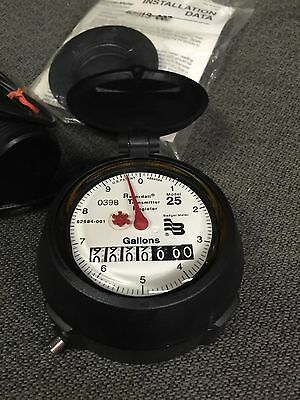Badger Touch/ADE Transmitter Water Meter Dial Model 25 PM Install Kit Steampunk