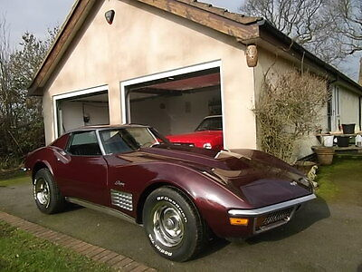 1971 Chevrolet Corvette Stingray C3 Coupe Chrome Bumpers, UK Registered Full MOT