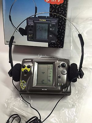 PLAYMAN WG-909 - WALKMAN - 3 in 1 - VERY  RARE -  Vintage - CASSETTE PLAYER