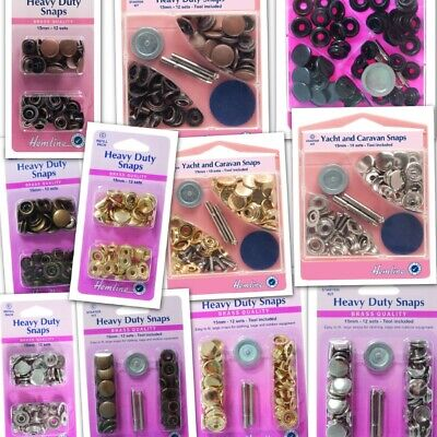 Heavy Duty Snaps Poppers Jacket,Clothes,Caravan,Trailer,Anorak,Leather,Fastener
