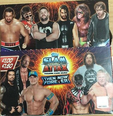 Topps Slam Attax Then.now.forever Trading Cards X 20 Packets