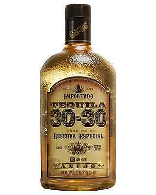30-30 Tequila Anejo 100% Agave 750ml case of 12