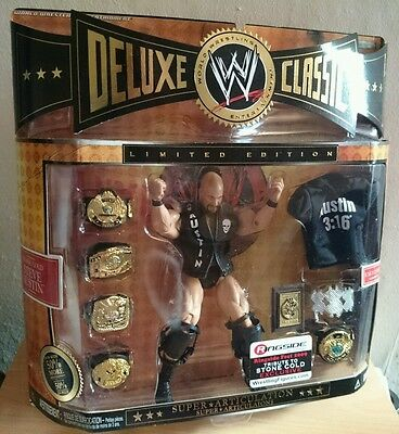 WWE Deluxe Classic Superstars, Tribute to Stone Cold figure, Brand new sealed