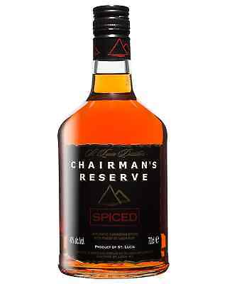 Chairmans Reserve Spiced Rum 700mL Chairman's Reserve bottle