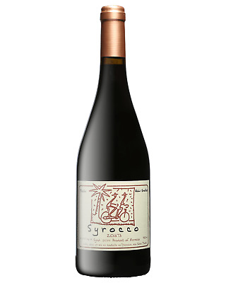 Alain Graillot Syrocco Syrah 2014 case of 12 Dry Red Wine 750mL Morocco