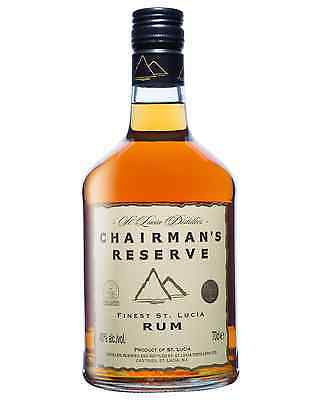 Chairman's Reserve Finest St Lucia Rum 700mL case of 6 Dark Rum