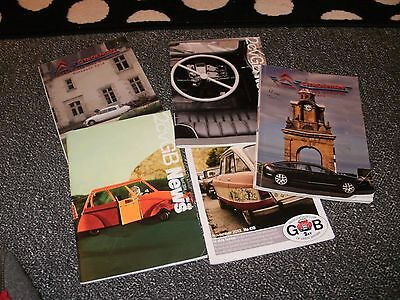 Citroen  Car Club  Magazines    Five In Total    Free Uk Post And Packing