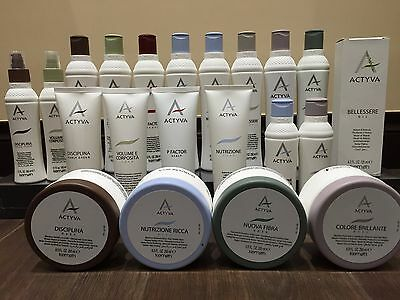 ACTYVA by Kemon - BRAND NEW - Salon Quality products for home and salon use