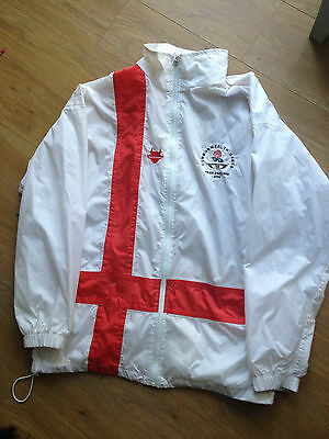 Athlete issue match worn England 2006 Commonwealth Games Mens Jacket track top