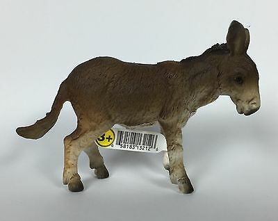 Schleich ~ DONKEY 13212 Collectible Toy Figure Retired NEW With Paint FLAW