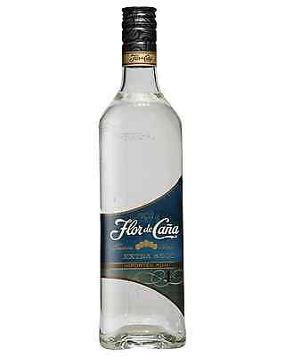 Flor de Cana 4 year Old Extra Dry White Rum 700mL case of 6