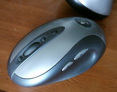 Logitech MX900 Wireless Optical Mouse souris Bluetooth - récepteur et adaptateur