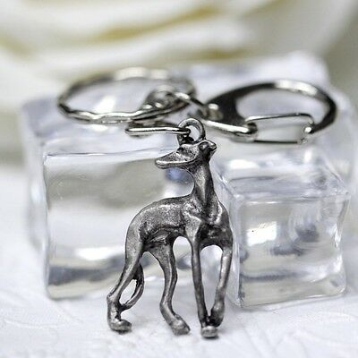 Italian Greyhound Keyring