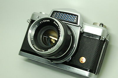 Vintage Kowa E w/ 1:2 50mm lens for parts or repair