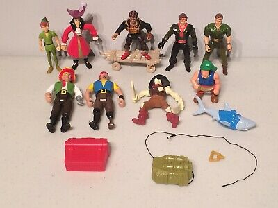 Robin Williams Peter Pan Panzerfaust Captain Hook Lost Boy Fufio Action Figures