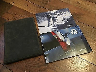 Volvo V70 Owners Handbook Manual & Wallet Set 2001 -2004 * 2.0T 2.4T T5 Awd