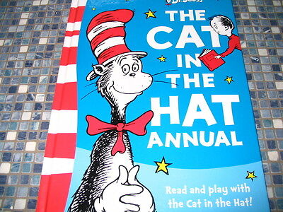 Dr Seuss The Cat In The Hat Annual Brand New Collectable