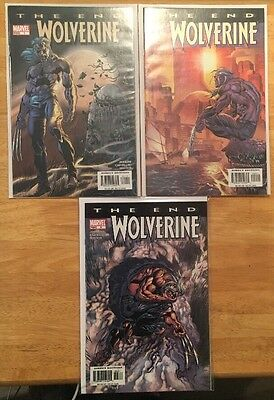 Wolverine The End #1-3 ALL NM 9.4 JENKINS CASTELLINI