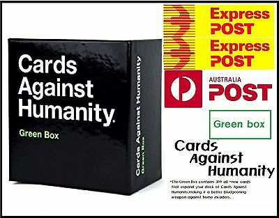 Genuine Cards Against Humanity Green Box The Newest Expans Free Express Delivery