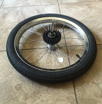 """16"""" REAR WHEEL for Baby Trend Expedition Jogger and/or Double Jogger"""
