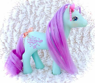 G1 Daisy Dancer Prom Queen Sweetheart Sister My Little Pony 1988 Purple Violin