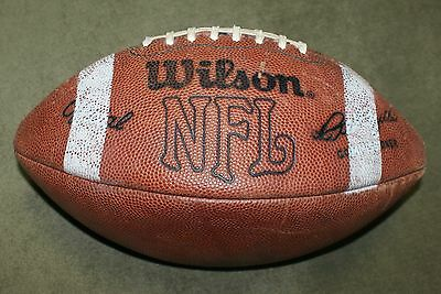 1981 Wilson Rozelle NFL Game Ball Night Game Stripes
