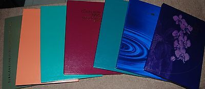 Australia Annual Stamp collections 1992-98 deluxe Year books Face A$295